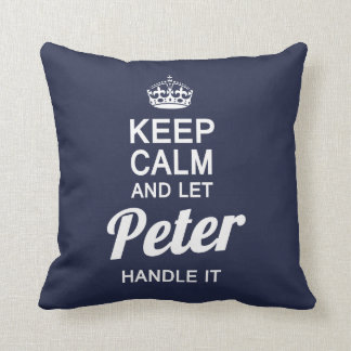 Let Peter handle it! Cushion