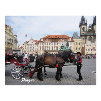 Let´s go sightseeing in Prague Postcard