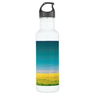 Let's go wait out in the fields 710 ml water bottle
