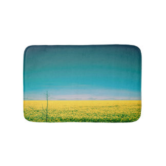 Let's go wait out in the fields bath mat