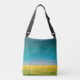 Let's go wait out in the fields crossbody bag