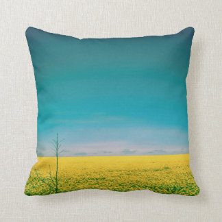 Let's go wait out in the fields cushion