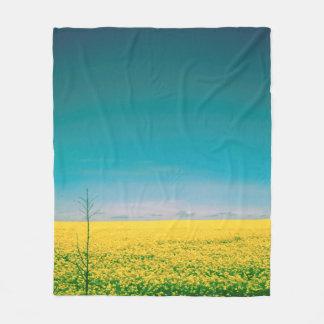 Let's go wait out in the fields fleece blanket