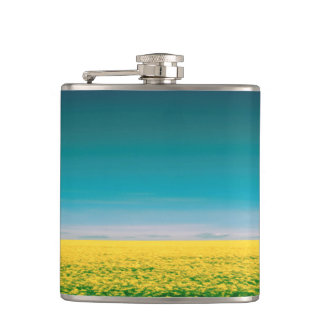 Let's go wait out in the fields hip flask