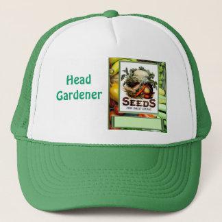 """Let""""s grow vegetables trucker hat"""