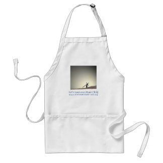 Let s Love One more Child Apron