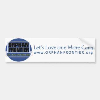 Let s Love One more Child Bumper Sticker