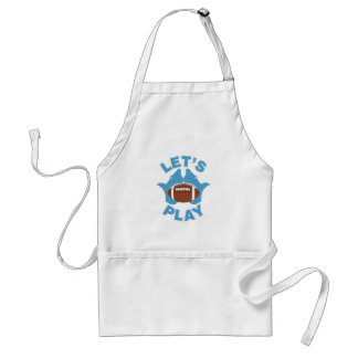 Let's play football standard apron