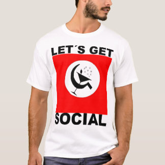 Let´s Social Get T-Shirt