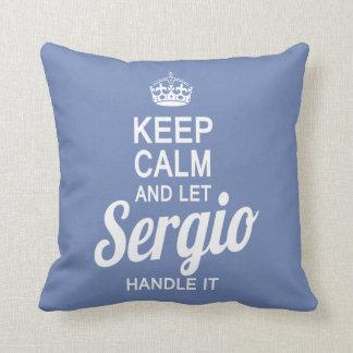 Let Sergio handle it! Cushion
