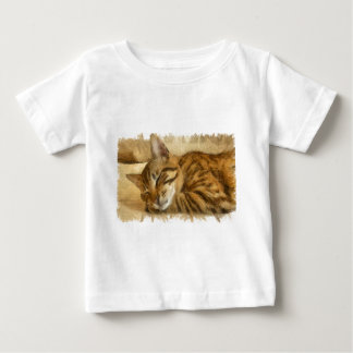 Let Sleeping Cats Lie Baby T-Shirt