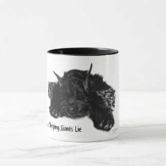 Let Sleeping Giants Lie  even if its just a puppy Mug