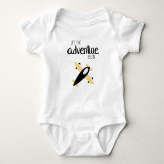 Let the Adventure Begin 01 Baby Bodysuit