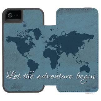 Let the adventure begin incipio watson™ iPhone 5 wallet case
