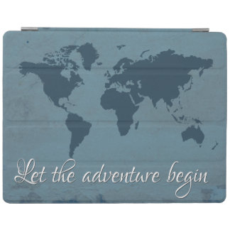 Let the adventure begin iPad cover
