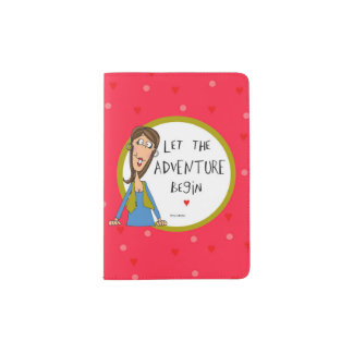 Let the Adventure begin Passport Holder