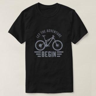 Let the adventure begin T-Shirt