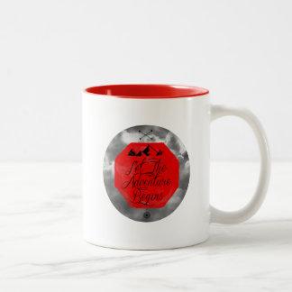 Let the adventure begins Two-Tone coffee mug