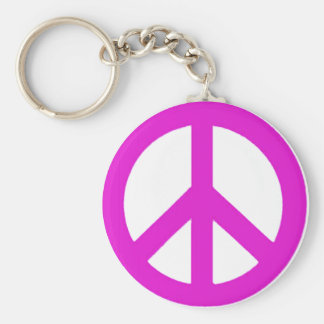 Let the be peace_ key ring