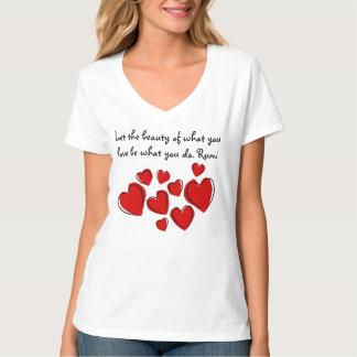 Let the beauty Rumi Women's V-Neck T-Shirt