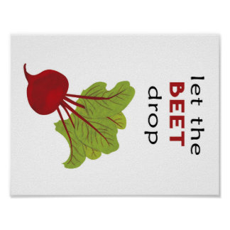 Let the BEET drop Poster