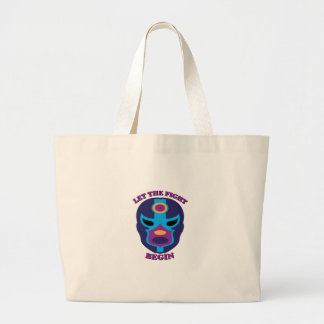 Let the Fight Begin Tote Bag