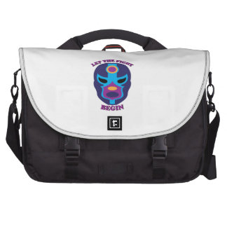 Let the Fight Begin Commuter Bag