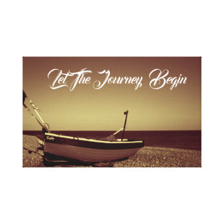 Let The Journey Begin Canvas Print