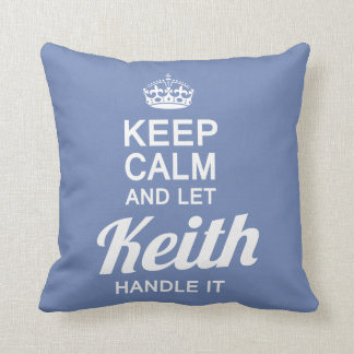 Let the Keith handle it! Cushion