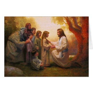 Let The Little Children Come to Me Greeting Card