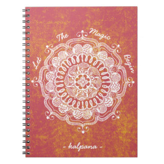 Let The Magic Begin Personalized Notebook