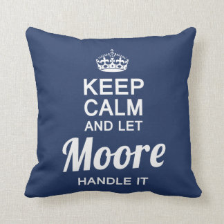 Let the MOORE handle it! Cushion