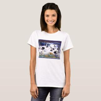Let the Music Flow Woman's T Shirt