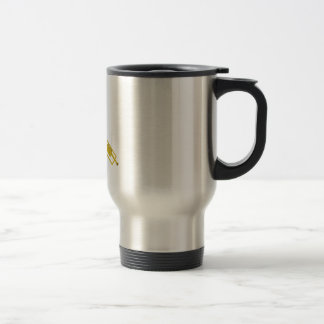 Let the Music Play Stainless Steel Travel Mug