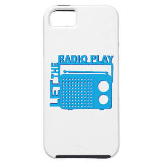 Let the Radio Play iPhone 5 Covers