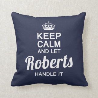 Let the Robert handle it! Cushion