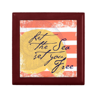 Let the Sea Set You Free Gift Box