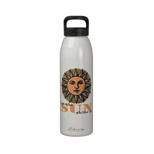 Let the Sun Shine In Reusable Water Bottles