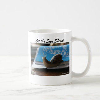 Let the Sun Shine! Basic White Mug