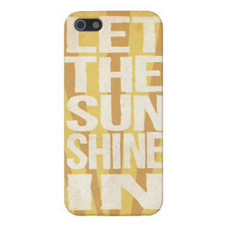 Let The Sunshine In Cover For iPhone 5/5S