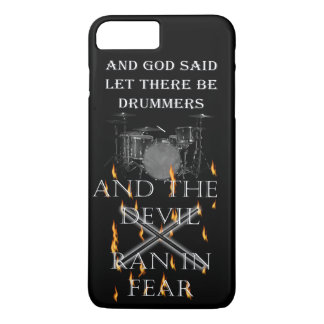Let Their Be Drummers iPhone 8 Plus/7 Plus Case