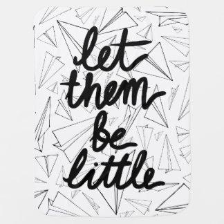 LET THEM BE LITTLE BABY BLANKET