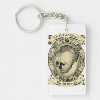 Let Them Die Key Ring