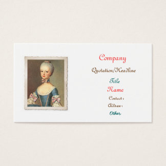 Let Them Eat Cake Business Cards
