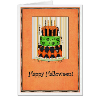 Let Them Eat Cake! Halloween Card