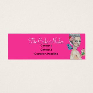 Let them eat cake mini business card