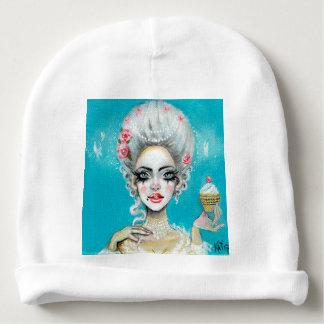 Let them eat cake mini Marie Antoinette cupcake Baby Beanie