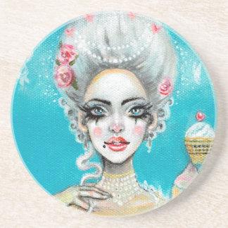 Let them eat cake mini Marie Antoinette cupcake Coaster