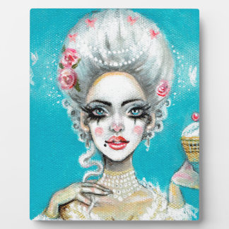Let them eat cake mini Marie Antoinette cupcake Plaque