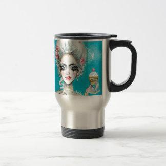 Let them eat cake mini Marie Antoinette cupcake Travel Mug